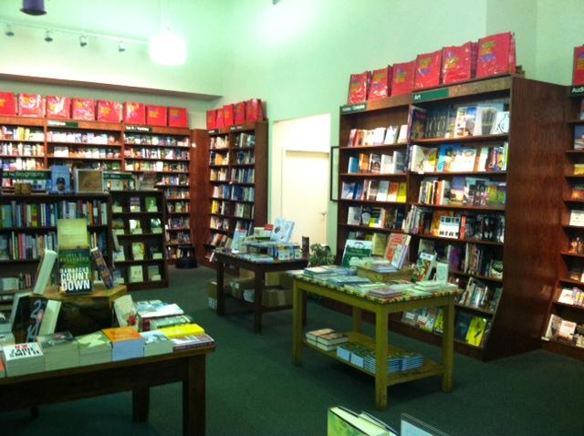 A view inside the River's End Bookstore in Oswego.