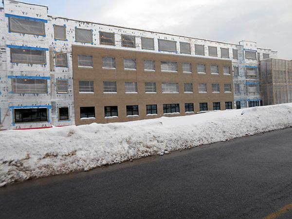 JCC's new residence hall can accommodate nearly 300 students.