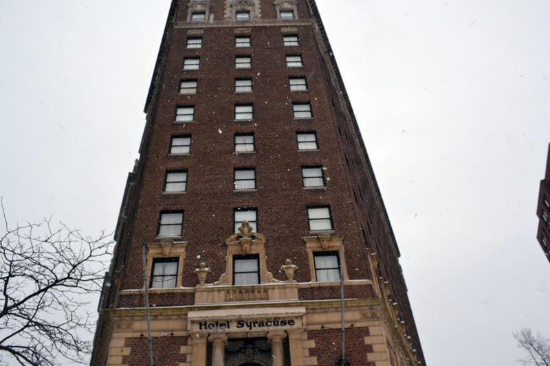 This will hopefully be the last winter the old Hotel Syracuse sits empty, economic development officials say.