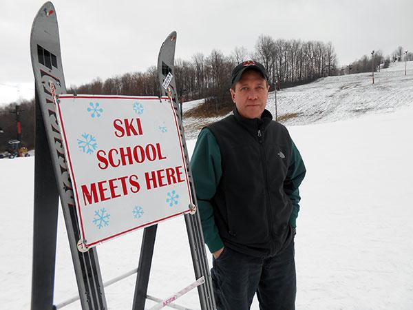 Tim McAtee, owner of Dry Hill Ski Area in Watertown, says an early snowfall like this year's can get his business season off to a strong start.