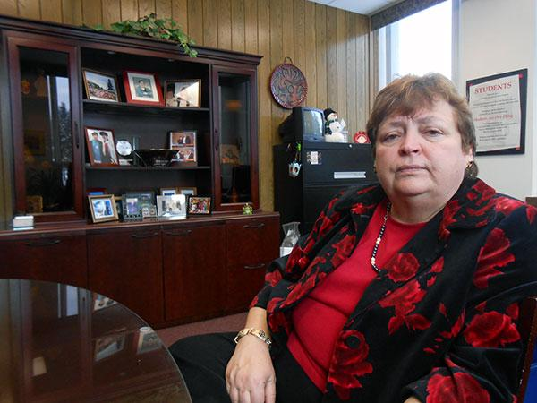 JCC President Carole McCoy says a convergence of local and national trends is causing 2 to 3 percent growth in the college's student body year after year.