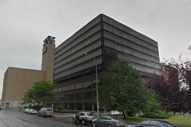 The former NYNEX building on East Washington St. in Syracuse was given $2.8 million for a conversion to mixed-use space, including apartments.