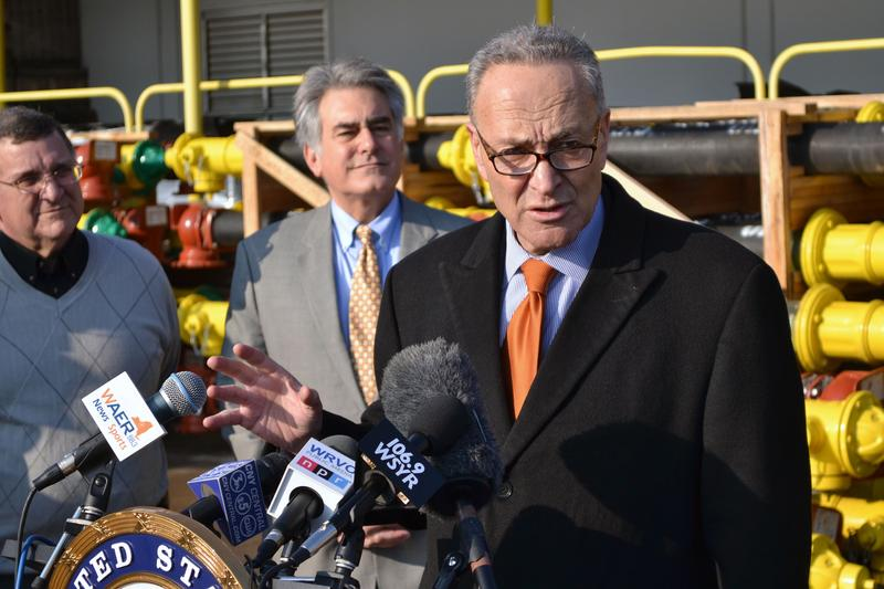 Sen. Charles Schumer (D - N.Y.) wants the EPA to exempt fire hydrants from lead requirements for drinking water products.
