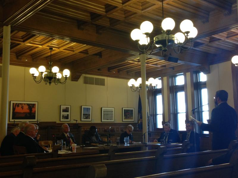 The nuisance property proposal was discussed at a Syracuse Common Council meeting in October.