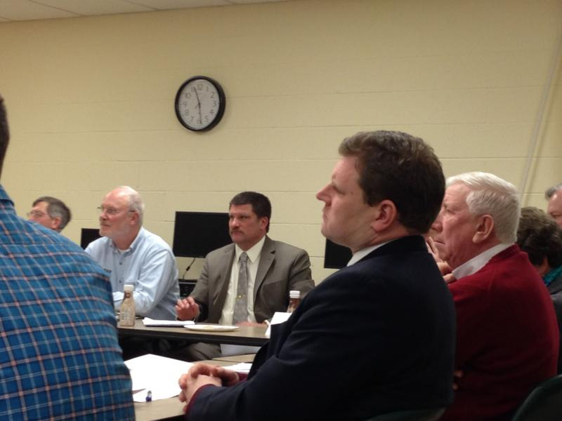 Rep. Dan Maffei (D-NY) listens to farmers' concerns at a recent roundtable.