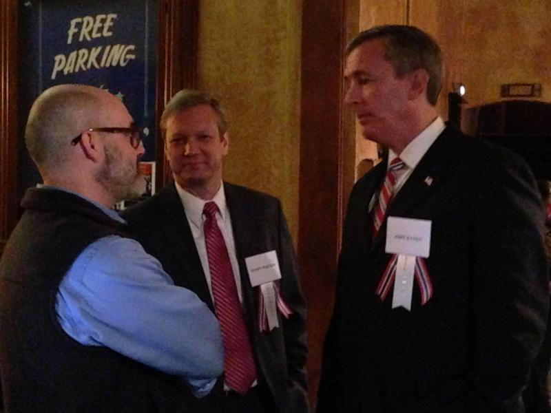 John Katko (far right) at a Conservative Party event