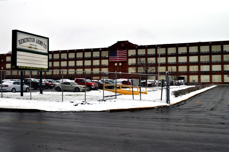 The Remington Arms factory in Ilion, N.Y.