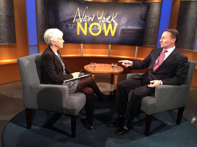 Rob Astorino talks with Karen DeWitt about his plan for this fall's gubernatorial election.