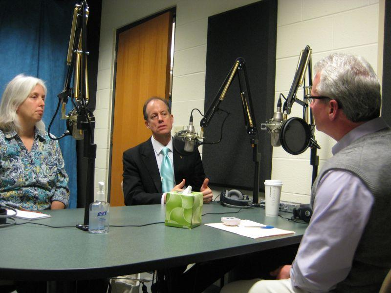 Susan Wood and Thomas Drake speak with Campbell Conversations host Grant Reeher