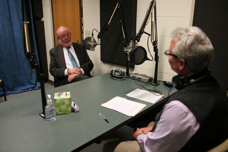 Onondaga County Court Judge Joseph Fahey speaks with Campbell Conversations host Grant Reeher