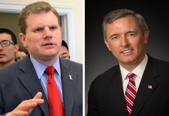 Left: Rep. Dan Maffei (file photo); right: John Katko (provided photo).