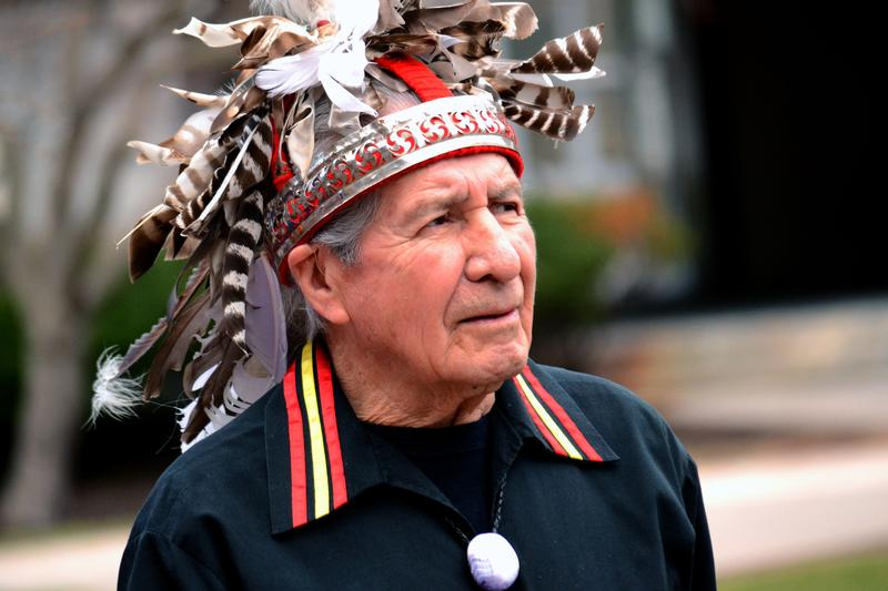 Oren Lyons, the faithkeeper for the Onondaga Nation.