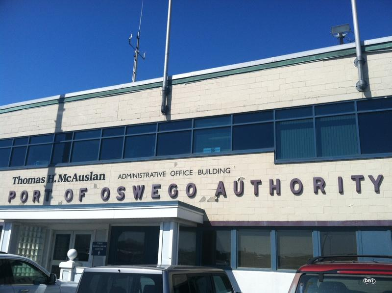 The Port of Oswego says its seeing huge gains this season. (file photo)