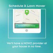 Customers can have mowers show up to their home during the day and send a photo when the job is complete.