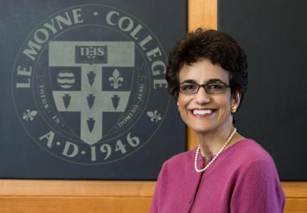 Le Moyne College president-elect Linda LeMura