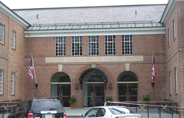 The baseball hall of fame in Cooperstown attracts nearly 300,000 visitors each year.