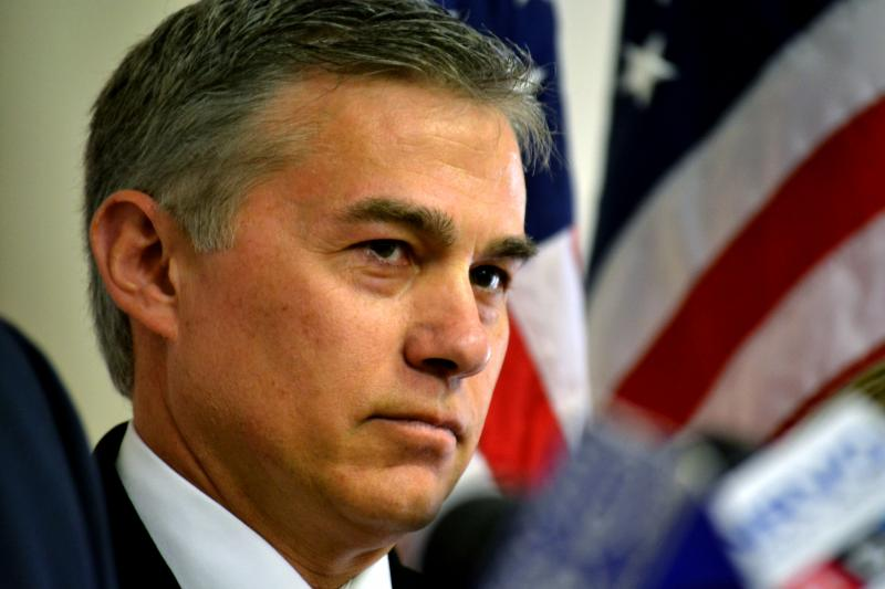 Onondaga County Comptroller Bob Antonacci is running for the state comptroller position against Democratic incumbent Tom DiNapoli. (file photo)
