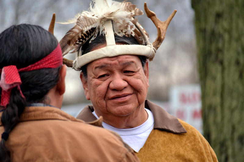Sam George, a sachem chief of the Cayuga Nation and member of the Unity Council.