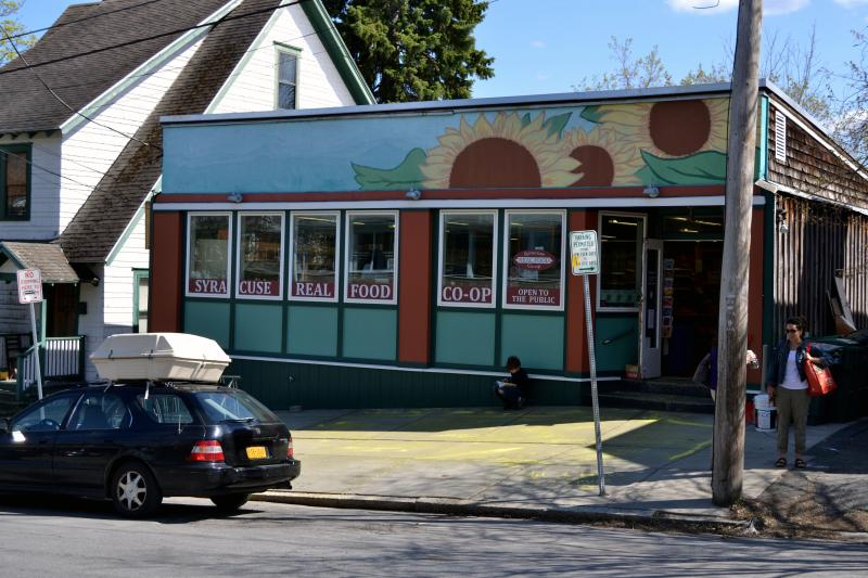 The Syracuse Real Food Co-op has been in business in the University Area neighborhood for 40 years.