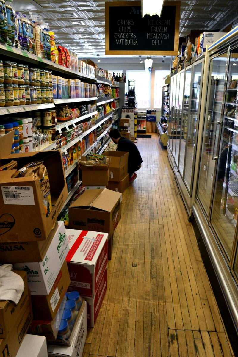"The Syracuse Real Food Co-op is ""busting at the seams,"" said general Manager Jeremy DeChario."