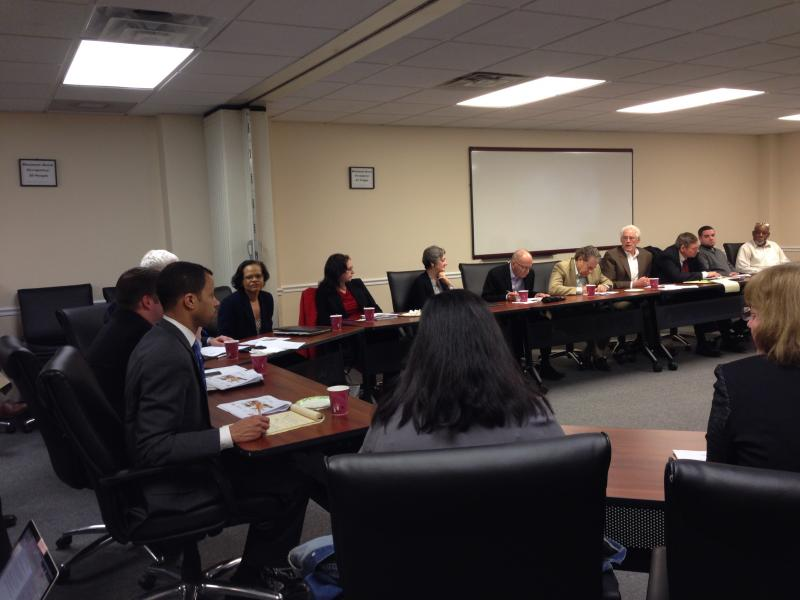 Syracuse Mayor Stephanie Miner's stadium task force discusses the prospect of a new stadium.