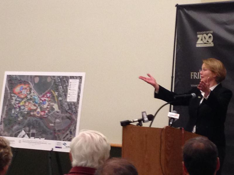 Onondaga County Executive Joanie Mahoney presents future plans for zoo