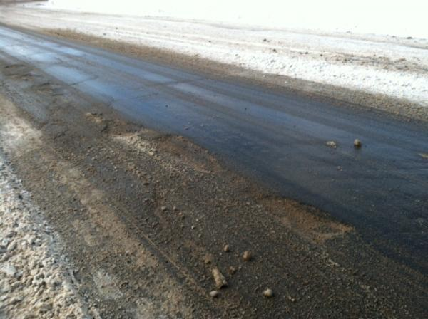 As the snow melted after the hard winter, many central New York roads were left with lots of potholes.