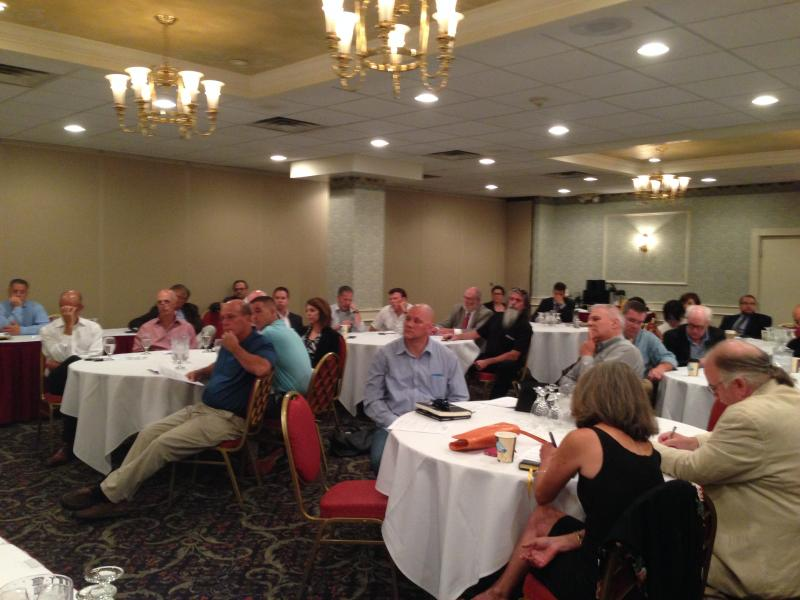 Restaurant owners meet in Syracuse to discuss ways to combat Destiny USA's tax breaks.
