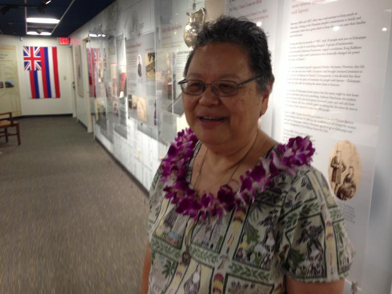 Sister Geraldine Ching discusses the museum's role in Syracuse.