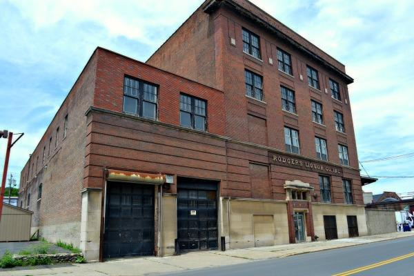 Rodgers Liquor Building in Albany