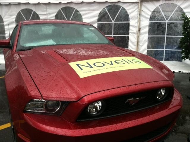 Novelis, an aluminum manufacturer, rolls the aluminum used in many vehicle models.