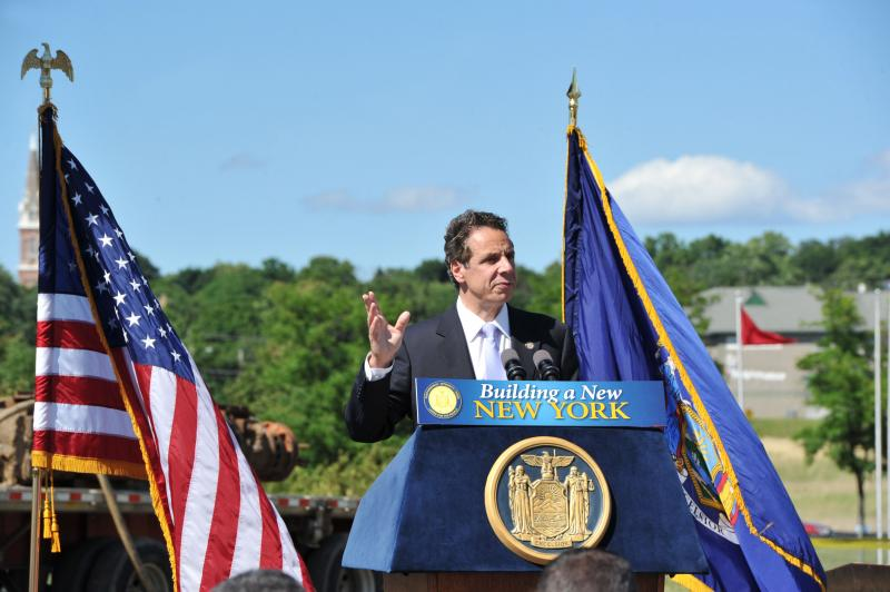 Gov. Andrew Cuomo during a recent visit to Syracuse (file photo)