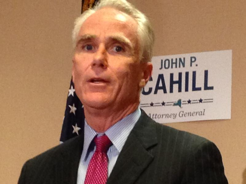 John Cahill says Attorney General Eric Schneiderman can discuss some aspects of the now defunct Moreland Commission. (file photo)