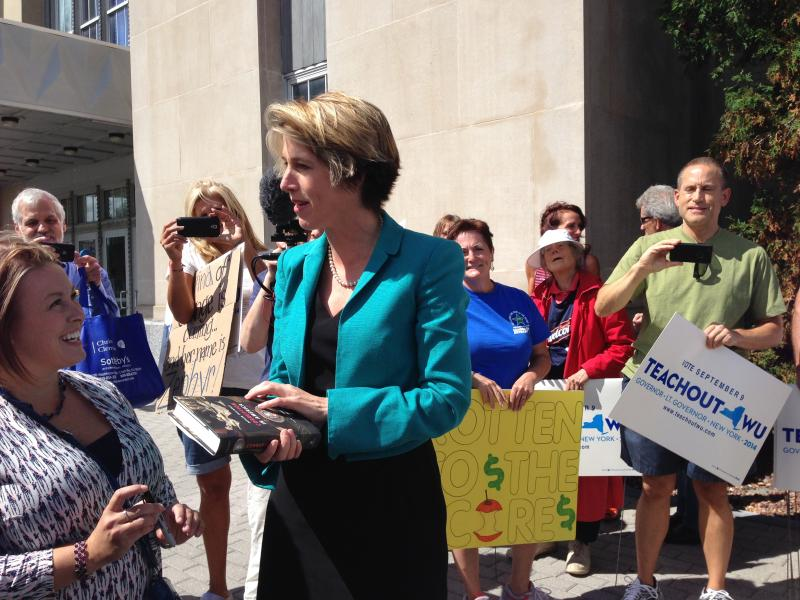 Zephyr Teachout says the Time Warner-Comcast merger would result in higher monthly bills for users.