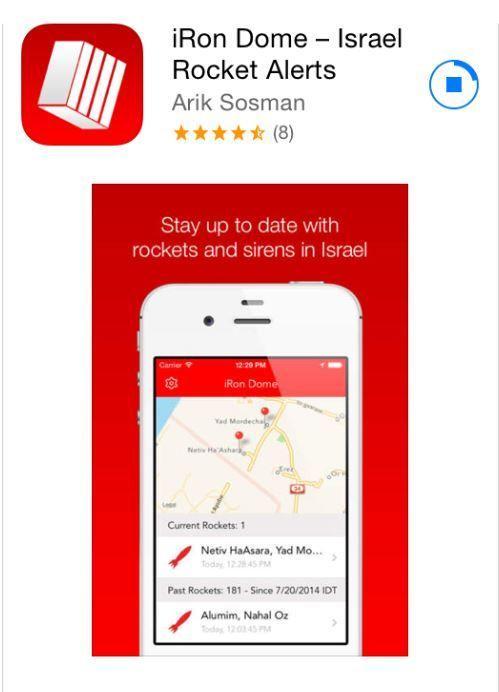 iRon Dome app