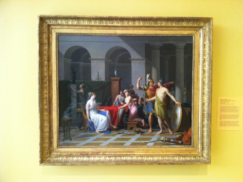 "One of the 70 pieces included in the ""Golden Age of European Painting"" exhibit at MWPAI."