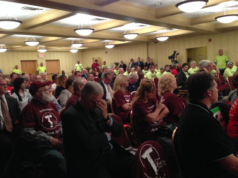 A large crowd came to a public comment hearing in Ithaca, regarding a proposed casino coming to the Southern Tier and Finger Lakes.