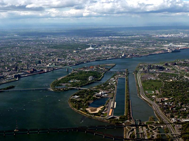 St. Lawrence Seaway in Montreal