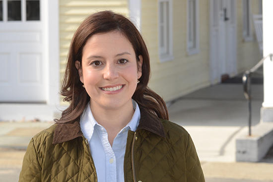 Elise Stefanik heard from farmers concerned about the high price of milk.