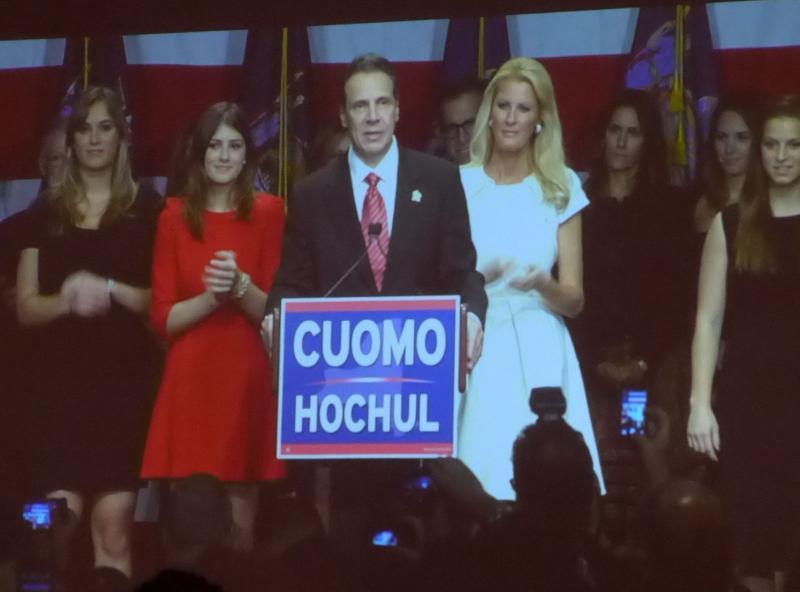 Cuomo wins re-election   WRVO Public Media