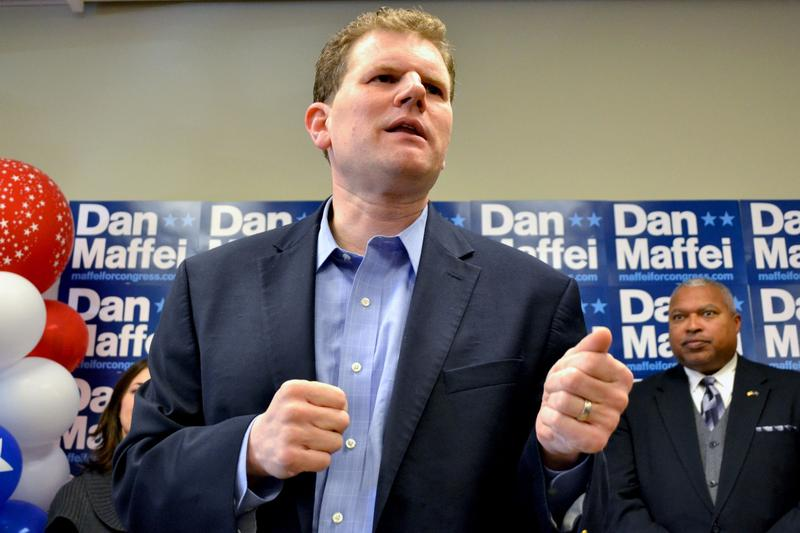Rep. Dan Maffei (D-Syracuse), rallied volunteers Monday. He ultimately lost his bid for re-election to the 24th Congressional District.