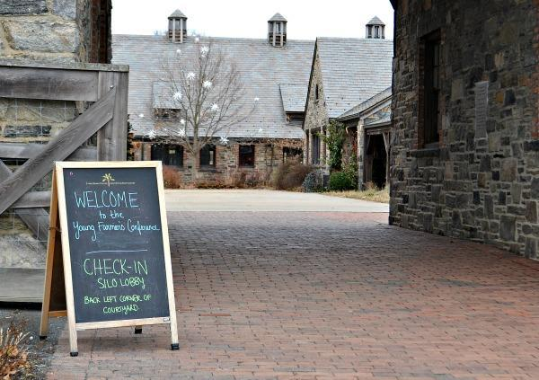 The Young Farmers Convention is held at Stone Barns Center