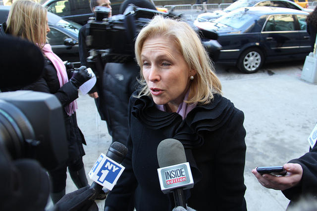 Sen. Kirsten Gillibrand has a new bill to combat sexual assault on college campuses.