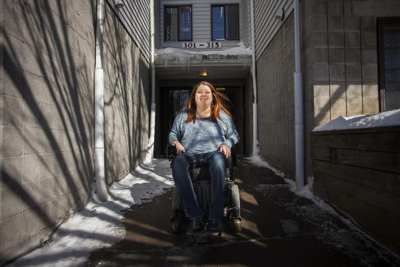 Michelle Fridley says people with disabilities should have more choices about where they want to live.