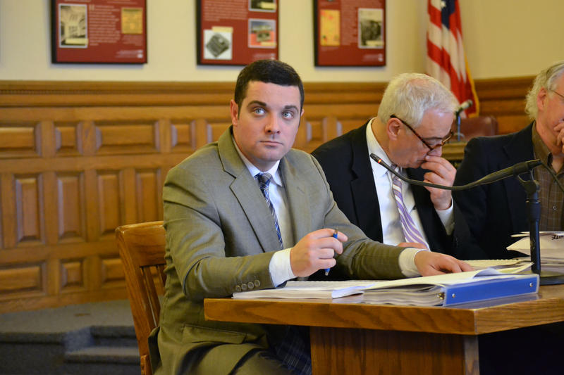 Syracuse Common Councilor Chad Ryan at a recent council meeting.