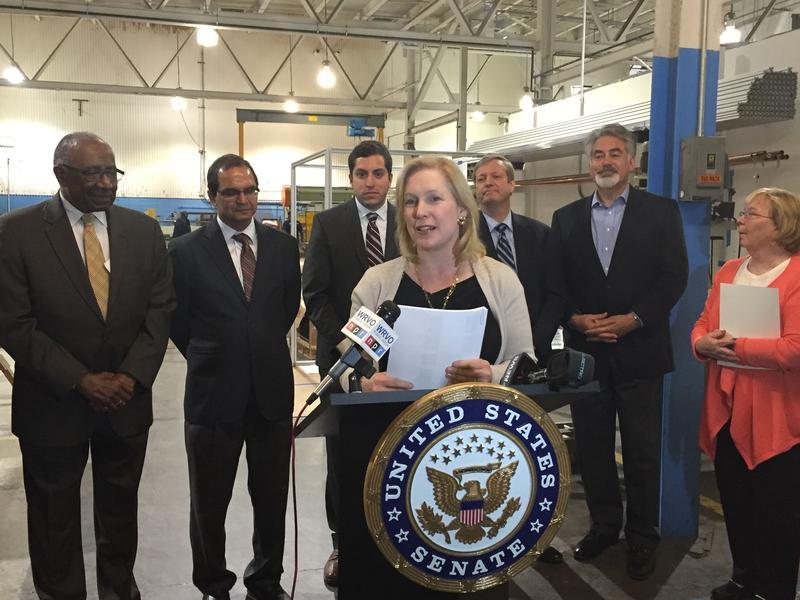 Sen. Kirsten Gillibrand (D-NY) visited SBB in DeWitt