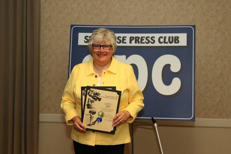 Ellen Abbot, Syracuse-area reporter.