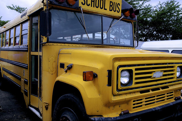 School district superintendents say consolidated bus routes could help save money.