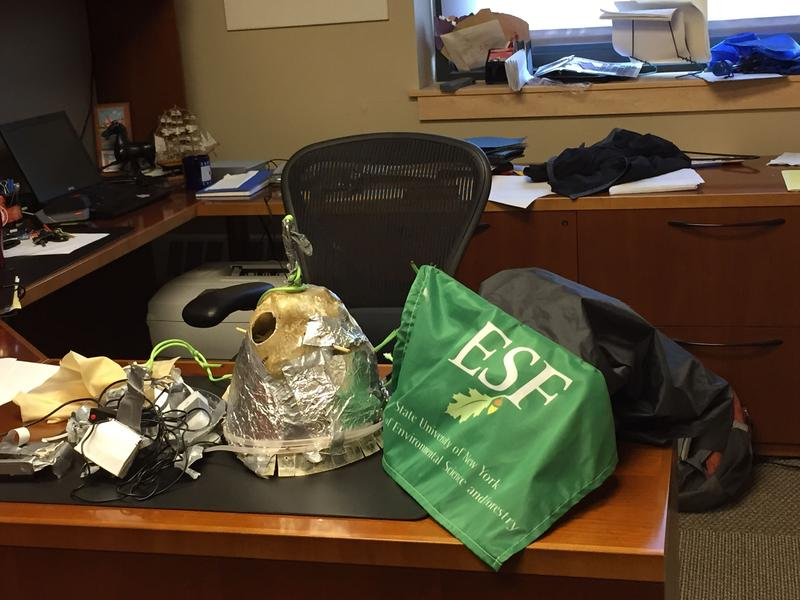 The payload that was attached to a weather balloon launched by SUNY ESF students has been found.