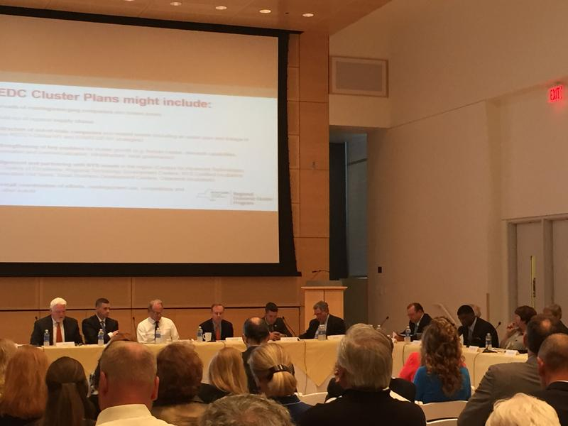 The Central New York Regional Economic Development Council meeting Thursday.